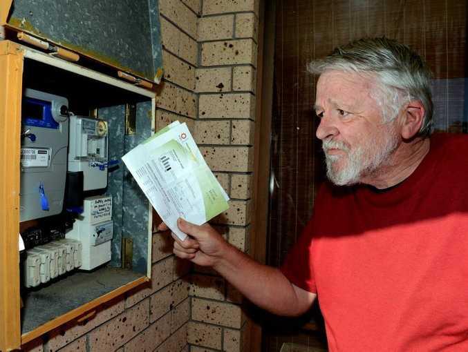Warren James is organising bulk electricity bills.