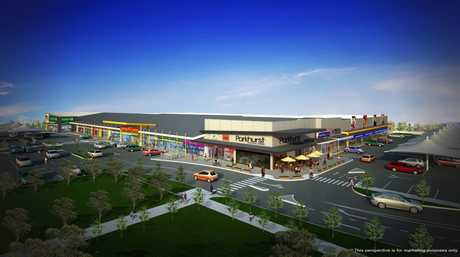 Parkhurst shopping centre. Photo Contributed artists impression