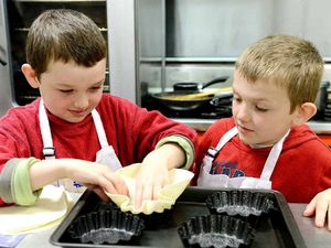 Kids get an appetite for the region's finest food