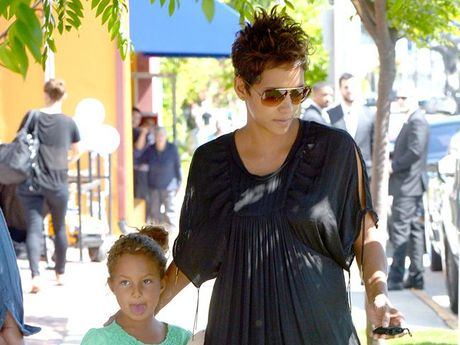 Halle Berry and her daughter Nahla