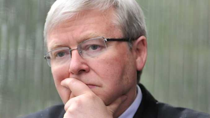 Returned Prime Minister Kevin Rudd