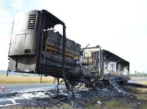 Mobile phone dead spot hampers rescuers in truck blaze
