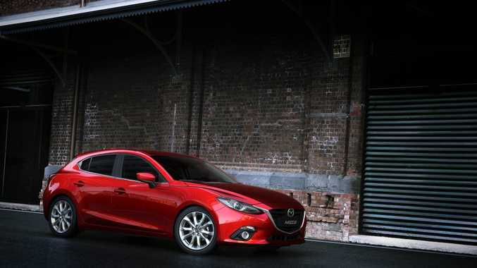 The all-new Mazda3 will arrive here early next year.