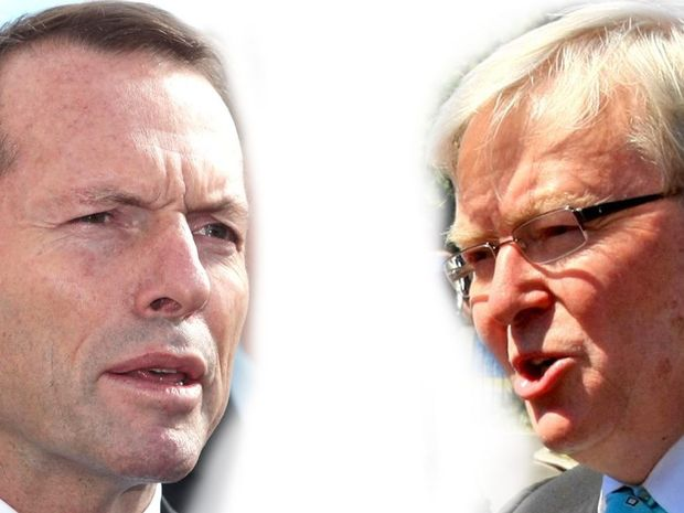 Tony Abbott and Kevin Rudd will go up against one another at the Federal Election