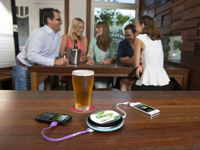 Coffs Harbour's Plantation Hotel is one of the first venues outside of Sydney to invest in DiscGo, a portable mobile phone charger.