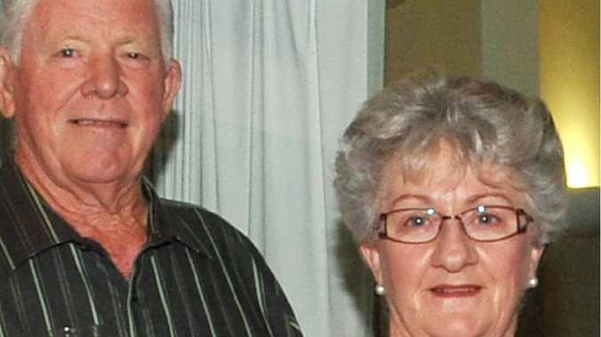 SAD LOSS: Former Clarence MP Ian Causley with wife June. Photo: Leigh Jensen