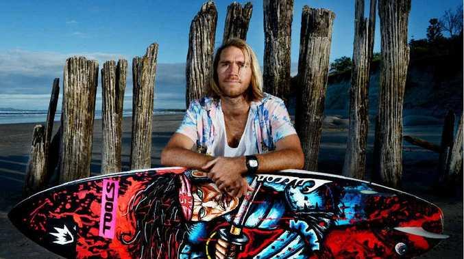 Afends team rider Luke Stickley features in Vortex Bandits that launches in Byron Bay next week.