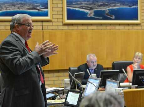 Coffs Harbour City councillor Keith Rhoades.