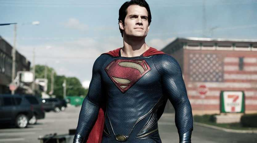Henry Cavill in a scene from the movie Man of Steel.
