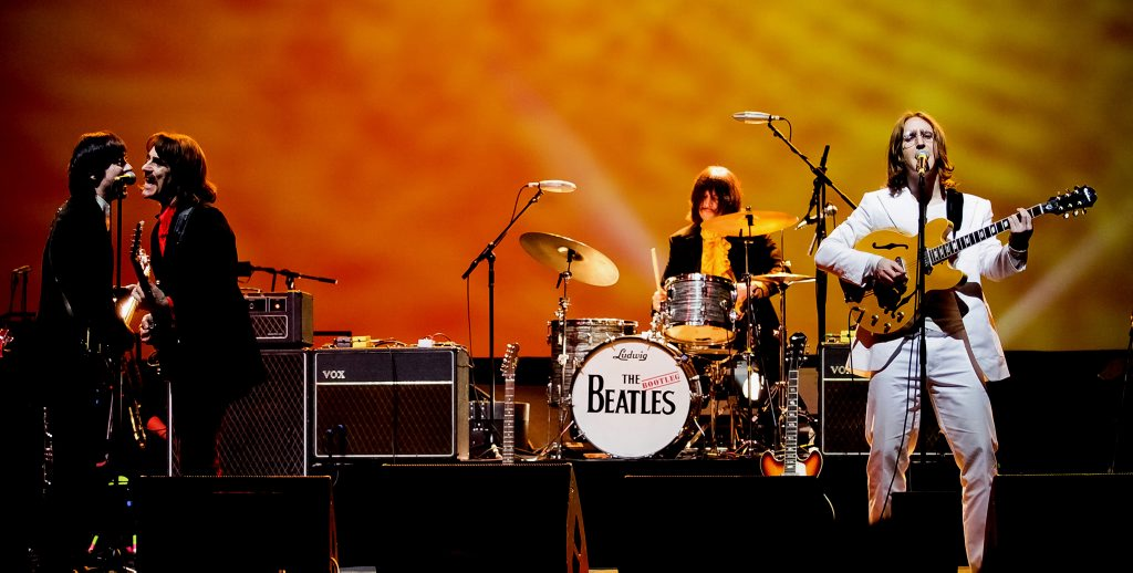 Beatles tribute band The Bootleg Beatles.