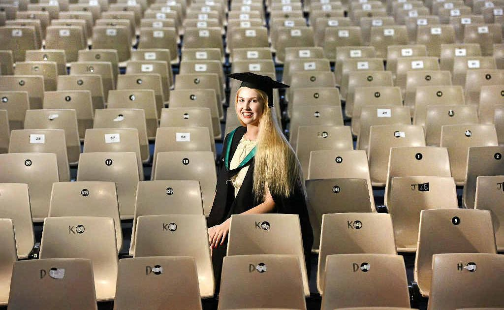 Chelsea Wallis plans to start a law degree after earning a Masters. She is just 18.