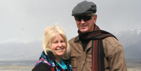 Rosemary and David Dyche in November, 2012
