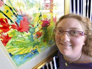 Art transformed Stephanie's life