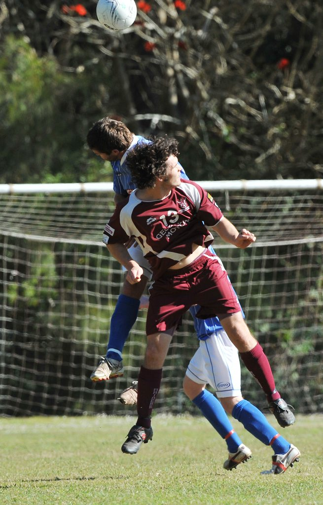 TOP SPOT: Urunga Raiders have moved into top position in the NCF Premier League, after a resounding win over Woolgoolga Wolves.