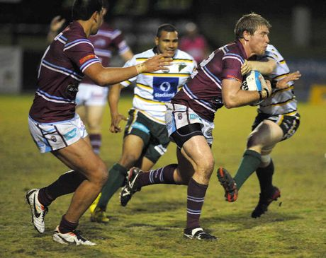 HOME DEFEAT: The Ipswich Jets could not hold out the Mackay Cutters at the North Ipswich Reserve on Saturday, losing their Queensland Cup clash 20-18.