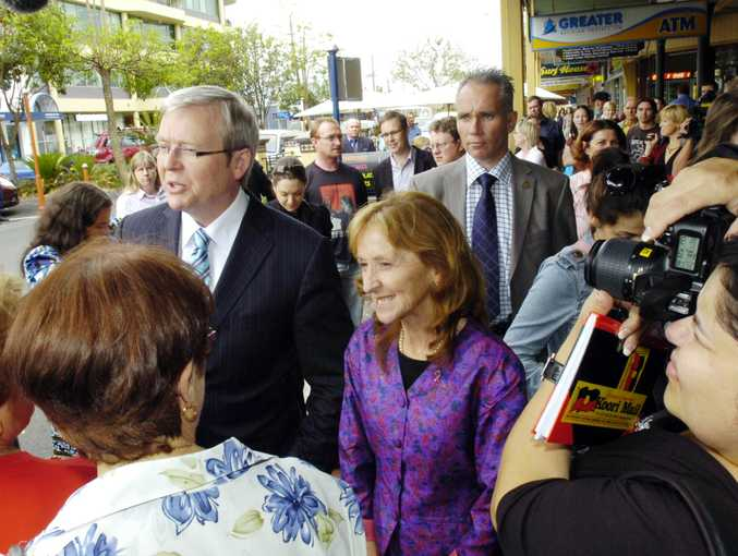 The Rudd Revival is underway across the nation but the bookies say it is late arriving in the seat of Cowper.