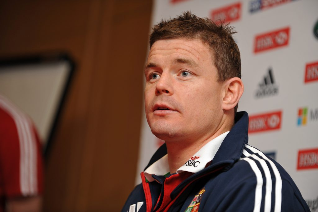 Brian O'Driscoll of The British and Irish Lions at a press conference at the Sheraton in Noosa. Photo: Iain Curry / Sunshine Coast Daily