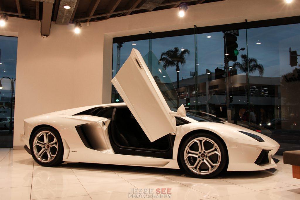 The Lamborghini Aventador LP700-4.