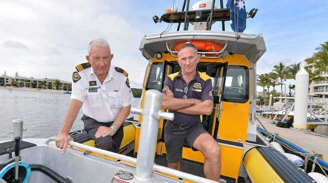 Noosa Coast Guard's John Milland and Lindsay Hall are angry that sabotage to their boats is putting lives in danger.