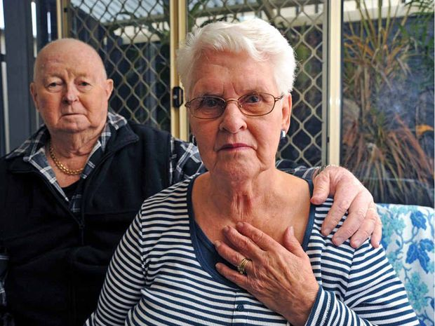 Ian and June Gillespie from Caloundra are searching for June's gold locket that was lost during or after a trip to the hinterland.