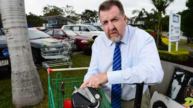 One of the new local laws announced this week by Cr Paul Tully and his colleagues will compel shopping centres to fit wheel locks to shopping trolleys.