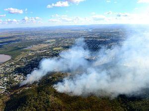 Crews prepare for bushfire season with burns on Mount Archer