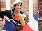 Cecile Espigole is preparing for Bastille Day.