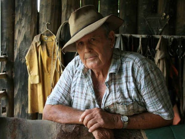 RING A BELL?: Rebekah Rogan's portrait of her grandfather Fred Morgan that won the Glen Archies photography portrait prize. PHOTO: REBEKAH ROGAN