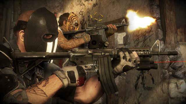 The game's plot follows a number of clichéd lines. You control a maverick pair of mercenaries, battling hostiles amidst chaos in lawless parts of Mexico.