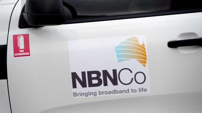 NBN truck.