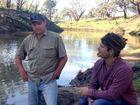 Singer-songwriter Ash Grunwald talks with Tara landholder Dayne Pratsky about the effects of coal seam gas.