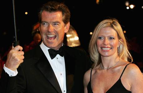 Pierce Brosnan accompanied by his daughter Charlotte in 2006. She has died aged 42 of cancer.