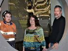 Andrew Rosier, Kathy Allen and John Teske worked together to save the life of Michael Blinman.