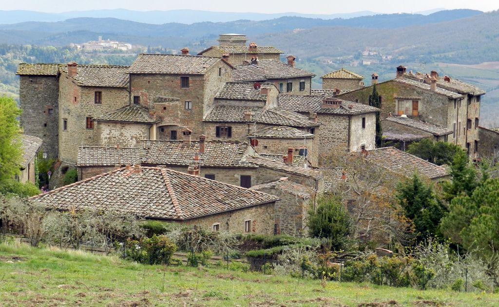 Castello di Volpaia in Tuscany