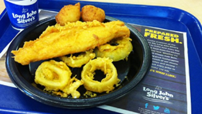 Long John Silver's Big Catch meal has been labelled the worst in America for fat and salt.