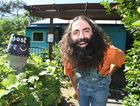 Popular garden show host and permaculture guru Costa Georgiadis loved the Yandina Community garden which is full of herbs and vegies.Photo:Nicholas Falconer / Sunshine Coast Daily