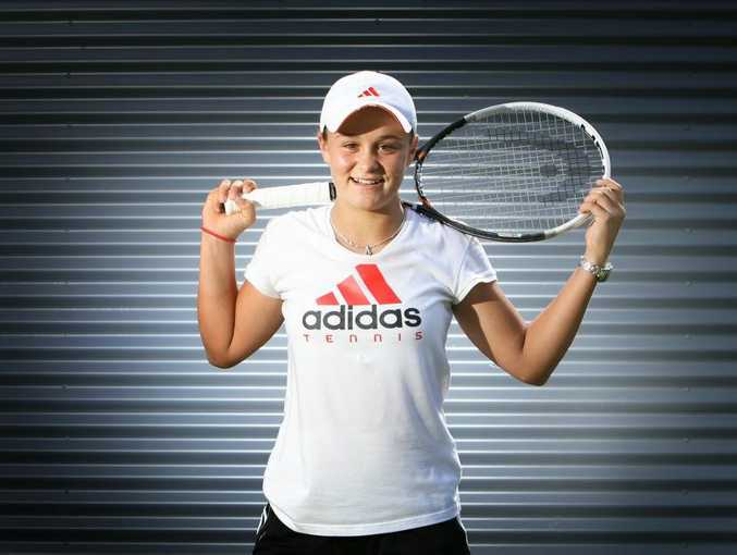 Ipswich teen Ashleigh Barty is one step away from a Wimbledon final.
