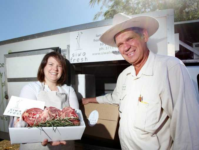 Both Amy Tiller and her father Adrian Tiller from Siwa Fresh couldn't be happier with the ABC delicious. award nomination for their grass-fed hogget.