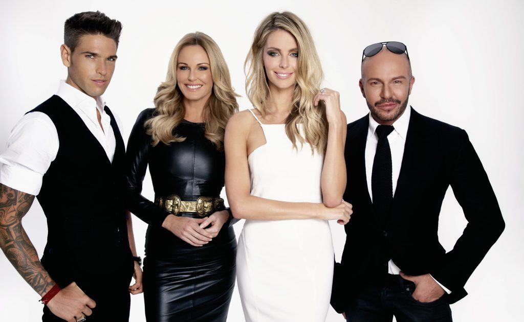 Australia's Next Top Model judges, from left, Didier Cohen, Charlotte Dawson and Alex Perry pictured with host Jennifer Hawkins.