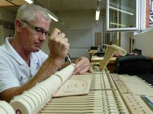 In-tune technician has the musical world at his fingertips