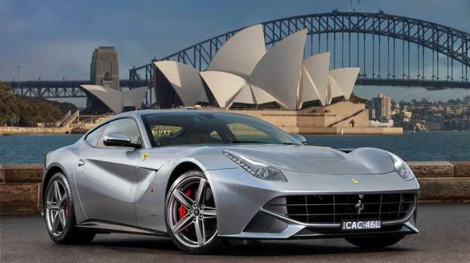 The Ferrari F12 Berlinetta can rip from standstill to 100kmh in 3.1 seconds.