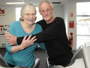 Retired couple proves gym visit a day keeps the doctor away