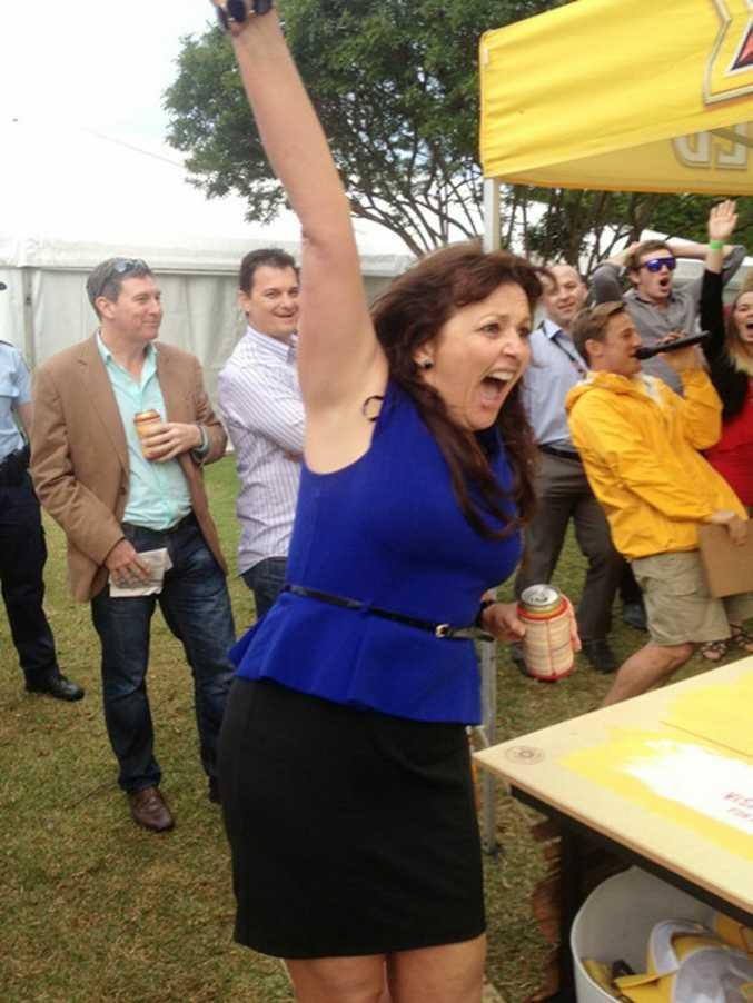 Katrina Marentis wins a trip to XXXX Island