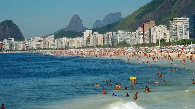 Brazil's famous Copacabana Beach is a magnet.