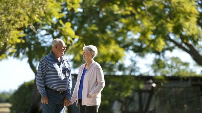 LOVE'S LONGEVITY: Matt and Elaine Dale, married for 55 years, celebrate the milestone at their Rosewood property.