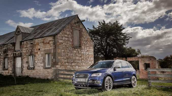 QUALITY RIDE: Nat takes the Audi Q5 for luxury duties.