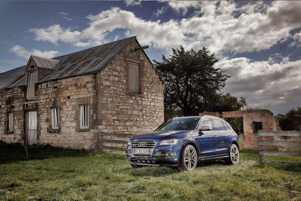 The Audi SQ5.