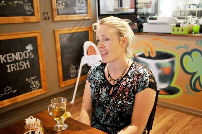 Carol Kendrick opened Kendo's Irish Café six weeks ago.
