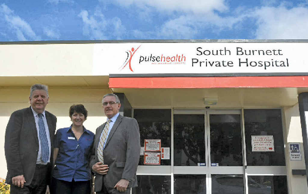 South Burnett Private Hospital will be placed in the South Burnett Regional Council's hands.