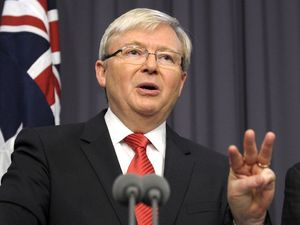 Kevin Rudd says sorry for Kokoda Track survivor quip